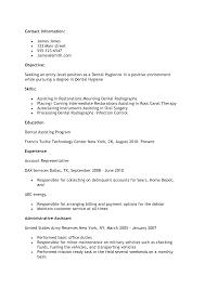 Resume For Dental Assistant Job Cover Letter For Dental Hygienist Choice Image Cover Letter Sample 63