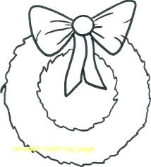 Christmas Wreath Coloring Page Wreaths Coloring Pages Wreath Page