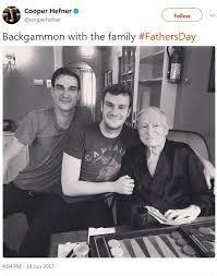 Is hugh hefner's oldest son gay