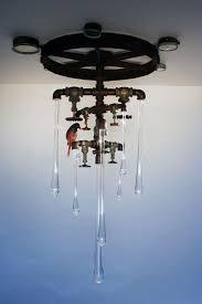 original liquid light glass custom sconce