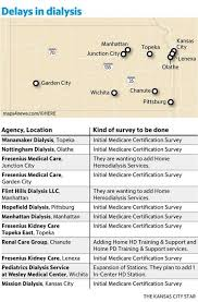 Kansas Dialysis Clinics Sit Unused Awaiting Cms Certification