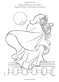 Small Picture 160 best Disney Tangled Coloring Pages Disney images on Pinterest