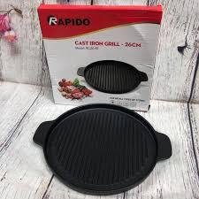 Vỉ nướng bếp từ Rapido GLASSLOCK MART