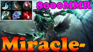 dota 2 miracle 8000mmr plays outworld devourer full game