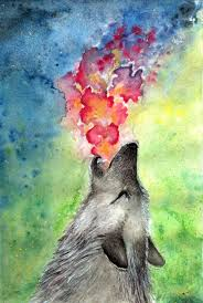 majestic wolf paintings that will leave you amazed image source