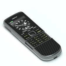 3D Nokia 8800 Arte Carbon