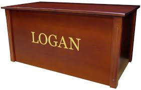 dream toy box personalized cherry wooden toy box toy chest made in usa