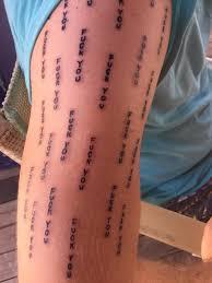 фанат выбил себе на теле ставшую легендарную надпись макгрегора