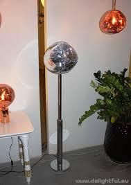 tom dixon melt floor lamp gold