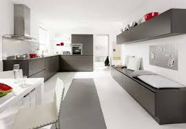 Kitchen Interior Window Modern Minimalist House Design With White Interior Color