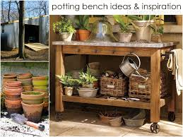 Potting Table 10 Potting Bench Ideas With Free Building Plans Tuesday Ten
