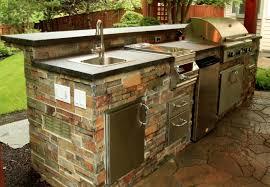rustic outdoor kitchen ideas outdoor upmount kitchen sink natural gas grill outdoor kitchen cabinet