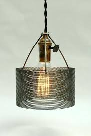 punched metal lamp shades perforated metal made into a drum lamp shade mexican punched tin lamp shades