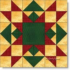 Christmas Star quilt block featuring flying geese, half square ... & Christmas Star quilt block featuring flying geese, half square triangles,  quarter square triangles Adamdwight.com