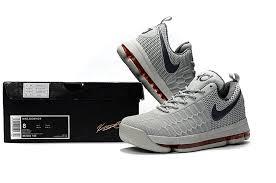nike basketball shoes 2017 kd. nike-kd-9-grey-red-basketball-shoes-6 nike basketball shoes 2017 kd
