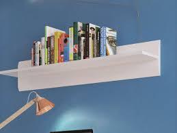 high gloss small wall shelf floating