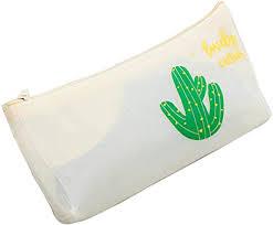 LUEST Cactus Printing PVC Waterproof Plastic ... - Amazon.com