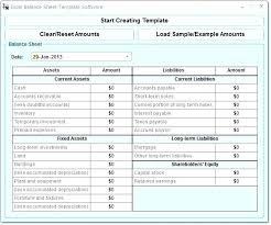 Simple Personal Balance Sheet Example Personal Balance Sheet Template Xls Theredteadetox Co