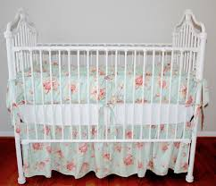 crib bedding color teal seaside rose whole coming soon girl cribs baby cot sets nursery girls