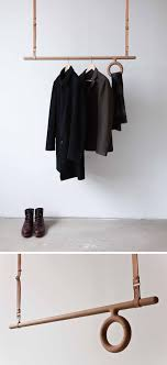interior design idea coat racks that hang from the ceiling with regard to mounted garment rack