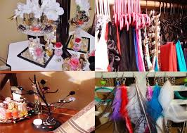 diy how to organize jewelry long short necklaces bracelets dangly earrings you