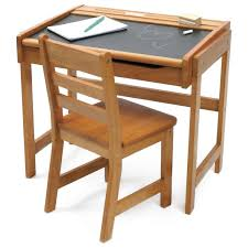 lipper chalkboard storage desk and chair set pecan 70 79
