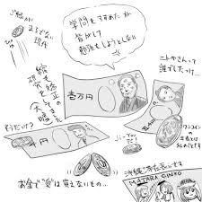 お金の現実離れ 石上かつおぶし さんのイラスト ニコニコ静画 イラスト