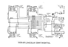 ford diagrams 1959 60 lincoln continental