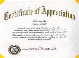 Certificate Of Appreciation Volunteer Work Volunteer At Days Long Beach