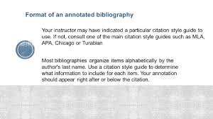 Formatting An Annotated Bibliography Chicago Style