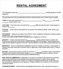 Snazzy Sample Of Tenancy Agreement In Nigeria 20 Rental Agreement ...