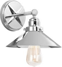 feiss vsch hooper retro chrome lighting wall sconce  mf