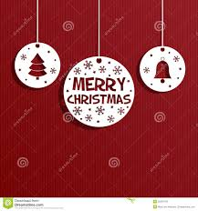 Paper Decorations Christmas Christmas Paper Decoration Stock Photography Image 35903742