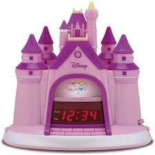 Disney Princess Magical Light Up Alarm Clock Amazon Com Disney Princess Storytelling Alarm Clock Radio