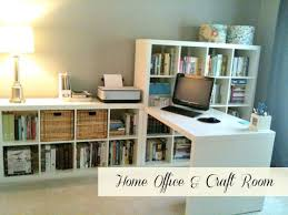 home office ikea expedit. Home Office \u0026 Craft Room Ikea Expedit Desk And Bookcases N