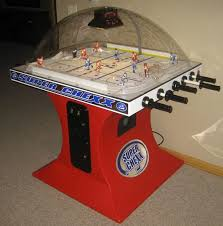 interesting super che bubble hockey game table by ice for pinside market bubble