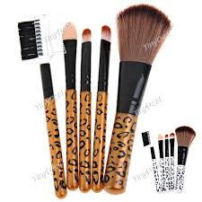 makeup tools brush cosmetic brush eye shadow leopard brush set