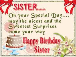Quotes For Sister Birthday Enchanting The 48 Happy Birthday Little Sister Quotes And Wishes WishesGreeting