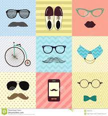 Hipster Vintage Cute Fashion Background ...