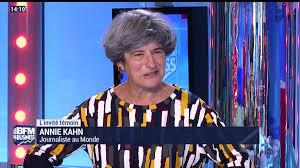 L'invité témoin: Annie Kahn, journaliste au Monde - 18/11 - Vidéo ...