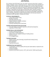 Hvac Resume Samples – Lifespanlearn.info