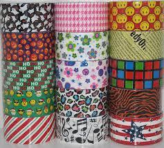Duct Tape Patterns Custom YOU PICK JFL Brand Duct Tape Rolls Prints Patterns Duck Tape