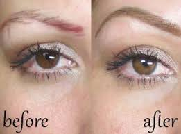eyebrow razor before and after. before and after hair stroke technique for brow correction eyebrow razor k