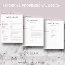 Resume Templates Modern Professional Resume Design Cv Template