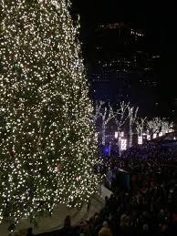 faneuil hall christmas tree lighting. Blink Tree Lighting. The Faneuil Hall Christmas Lighting