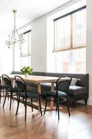 dining room banquette seating ideas furniture round table