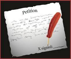 """Résultat de recherche d'images pour """"petition"""""""