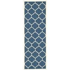 moroccan pattern rug uk courtyard navy beige indoor outdoor x