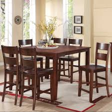holland house   piece counter height dining set with square