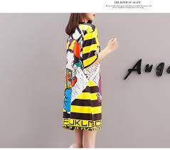 <b>Ameision Women Summer</b> 6 Styles karton <b>Dress</b> 2019 Printed Doll ...